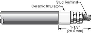 Ceramic Insulator Stud Terminal