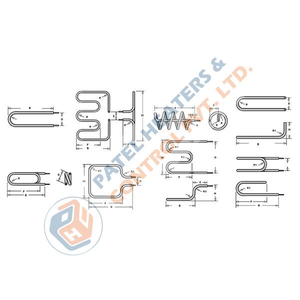 Drawing OF Tubular Heater