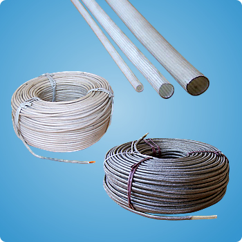 Fibre-glass-wire-sleeves