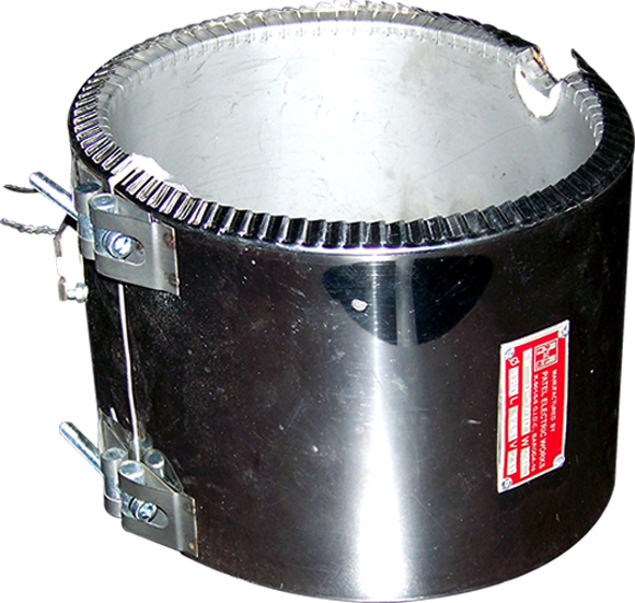 Ceramic Band Heaters India,Manufacturers Delhi   NCR, Gurgoan   Patel Heaters
